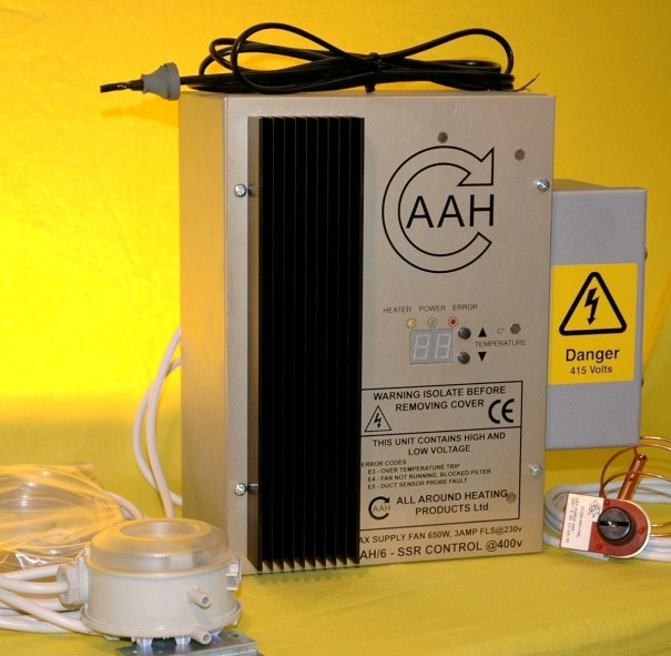 AAH Control Box Range For 1 Phase Heaters - 15kW