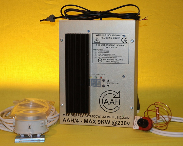 AAH Control Box Range For 1 Phase Heaters (9 kW)